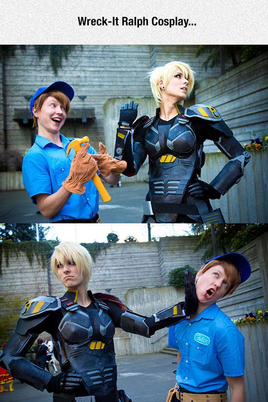 funny-Wreck-It-Ralph-cosplay-women