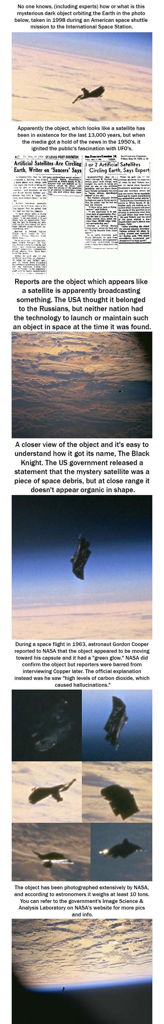 The Black Knight: Alien Satellite