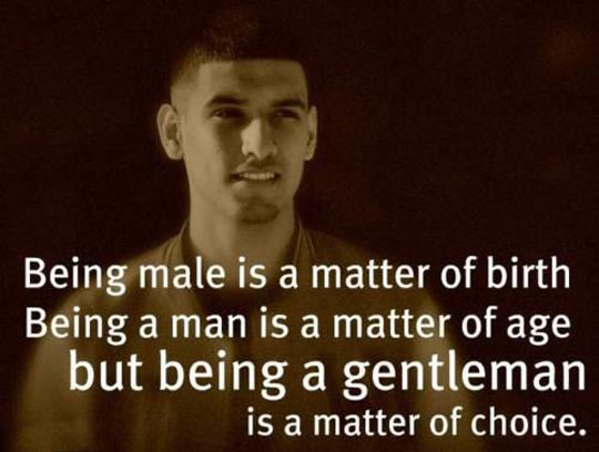 Being A Guy