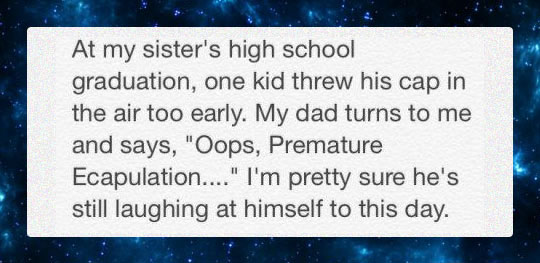 Graduation Dad Joke