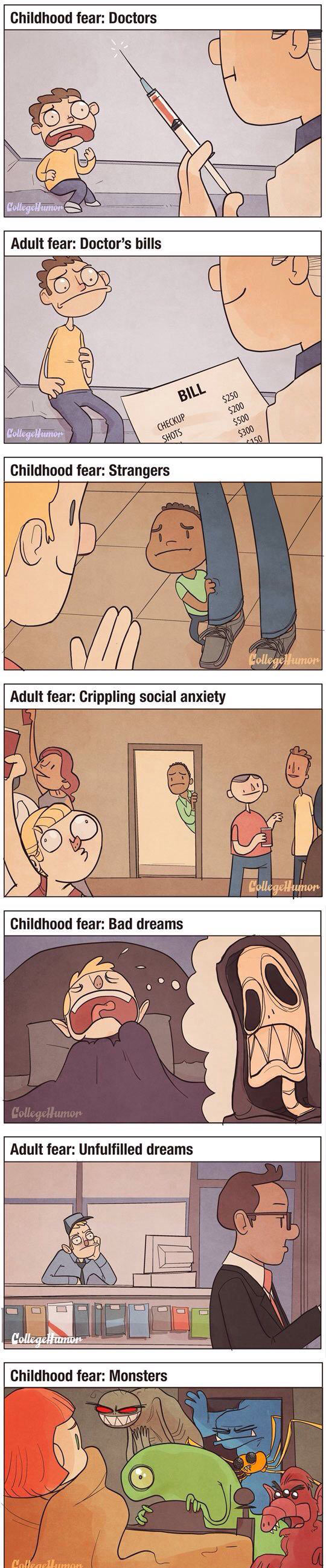 funny-doctor-Childhood-adulthood-fear