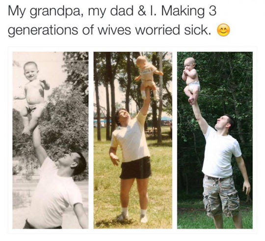 funny-father-son-generation-lifting