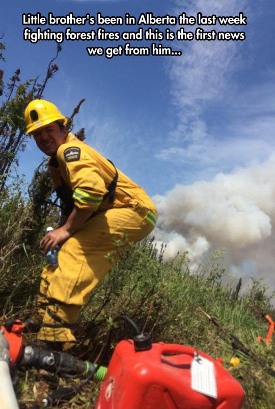 funny-firefighter-Alberta-smoke-posing