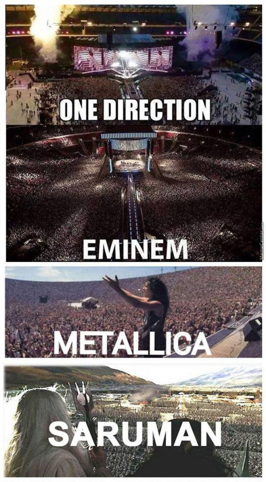 funny-gig-One-Direction-Metallica-Saruman
