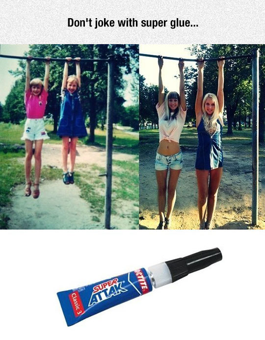 funny-girls-hanging-now-then-glue