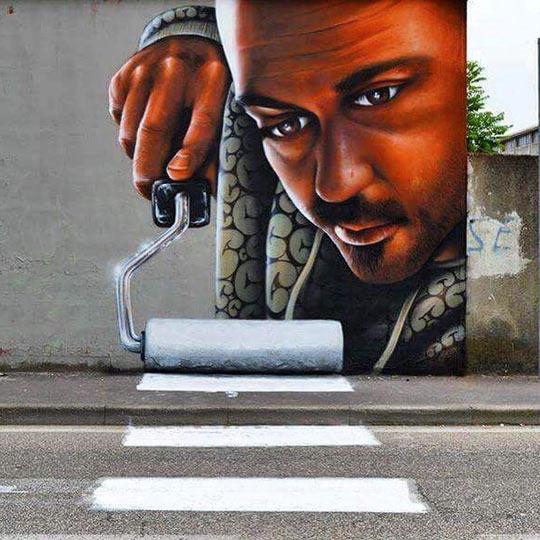 funny-graffiti-line-traffic-painter