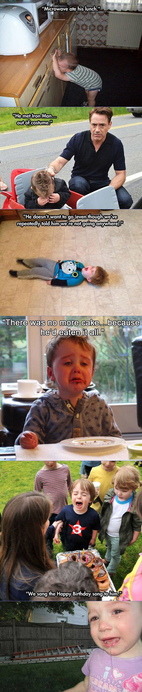 Kids Crying For The Funniest Reasons Ever