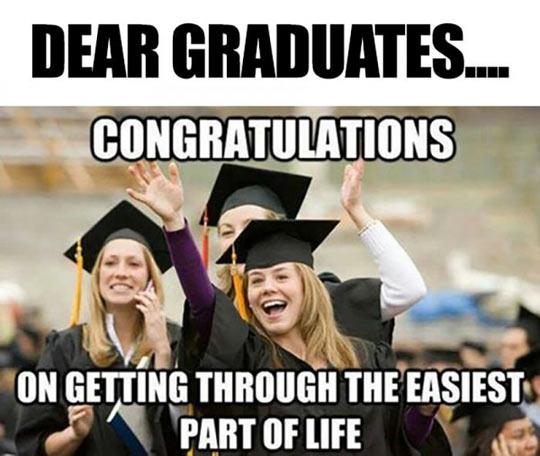 Congrats, Dear Graduates