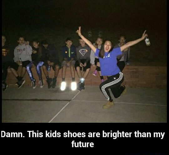 funny-kids-playing-shinny-shoes