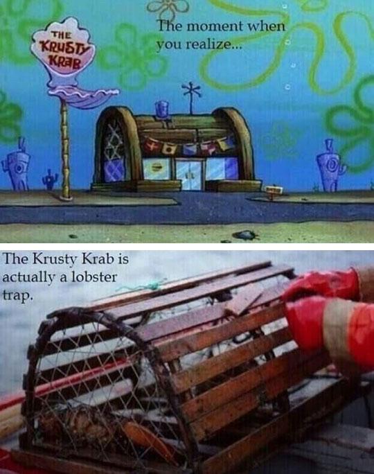 funny-lobster-trap-SpongeBob-Kursty-Krab