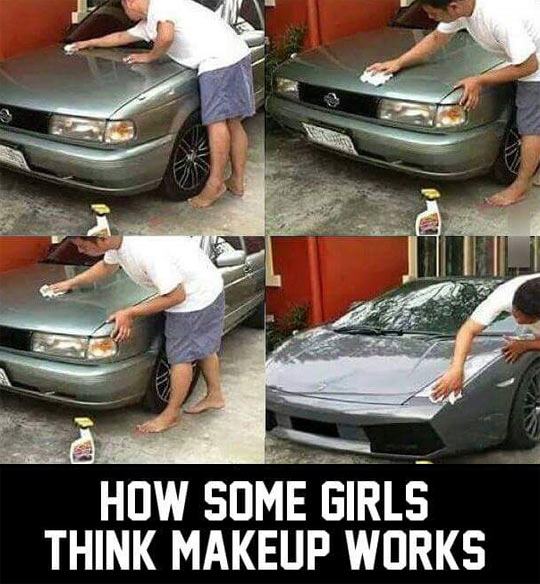 Girls And Makeup