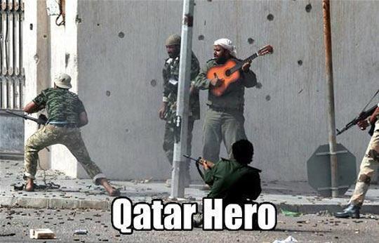 Fighting Guitar Hero