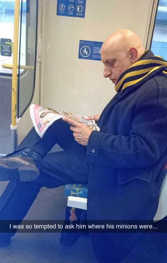 Gru Spotted In The Wild