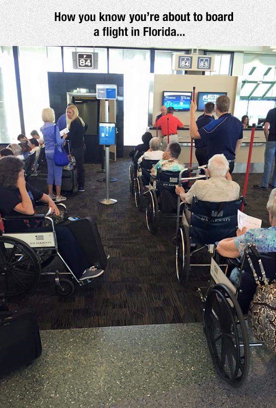 Meanwhile In A Florida Airport