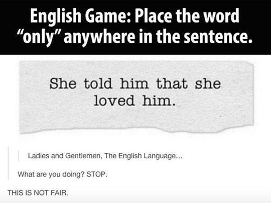 The Amazing English Language
