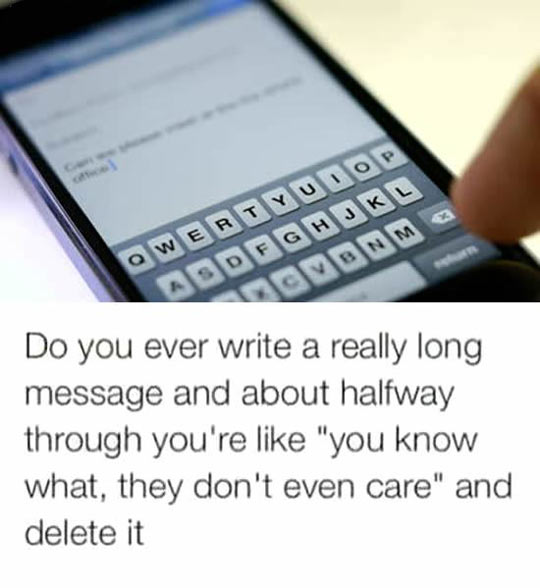 Writing Really Long Messages