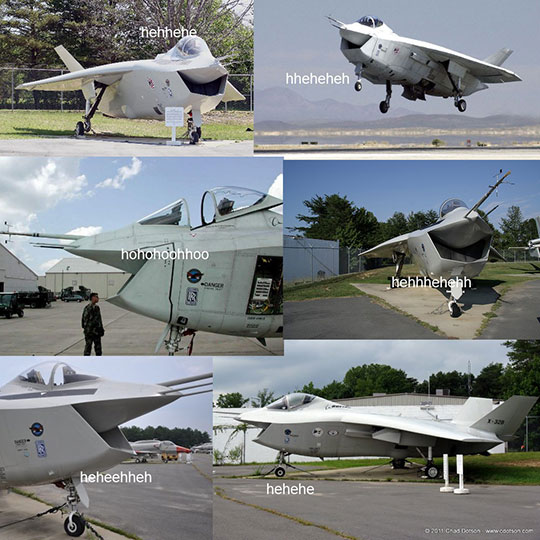 The Boeing X-32 Is Always Having A Great Time