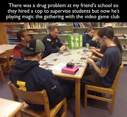 The Police Just Want To Have Fun