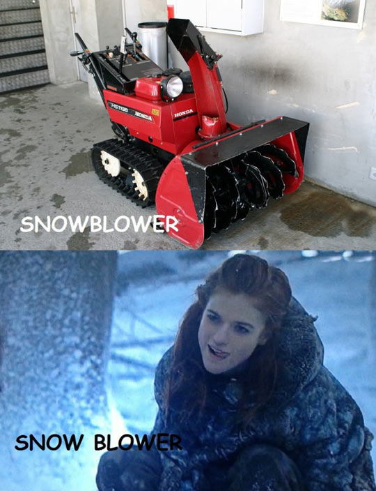 Just A Snowblower
