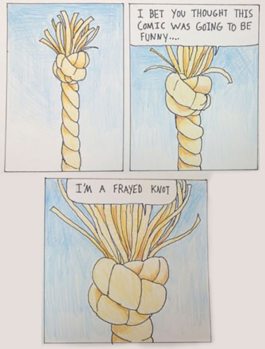 Rope Being Punny