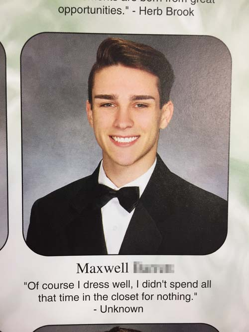 funny-yearbook-quote-dress-well
