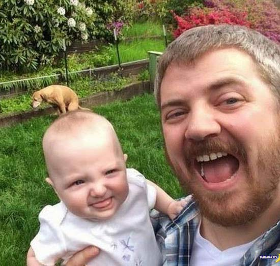 man-baby-dog-pooping-background-funny-family