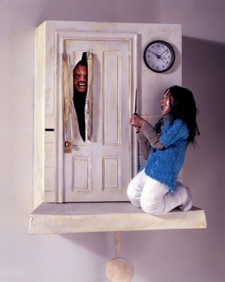 A different type of cuckoo clock