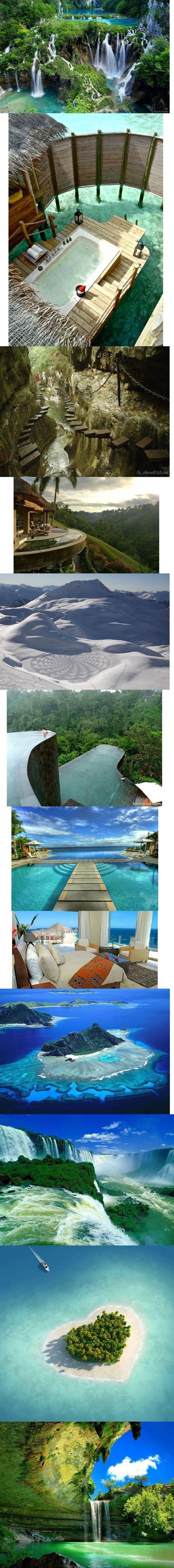 Amazing paradise places