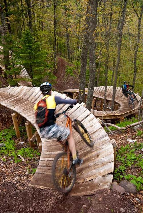 Awesome bike trails…