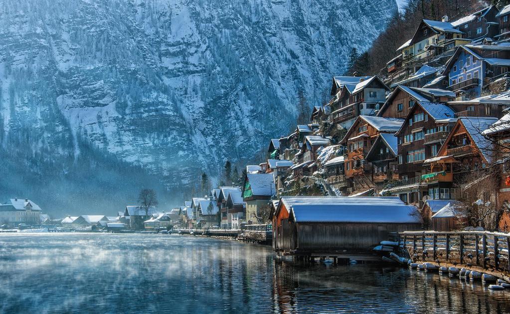 Beautiful picture of Hallstat, Austria