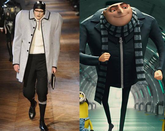 Despicable fashion…