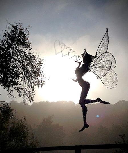 Fantasy Wire Sculptures1