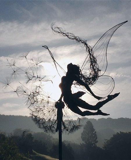 Fantasy Wire Sculptures10