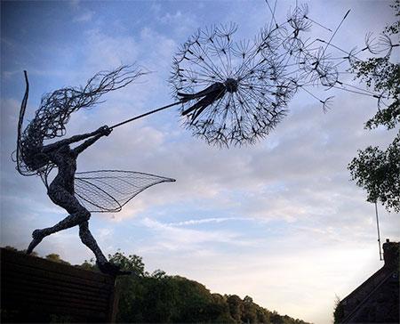 Fantasy Wire Sculptures12