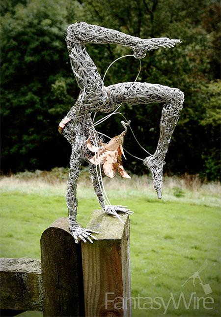 Fantasy Wire Sculptures2