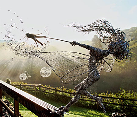 Fantasy Wire Sculptures3