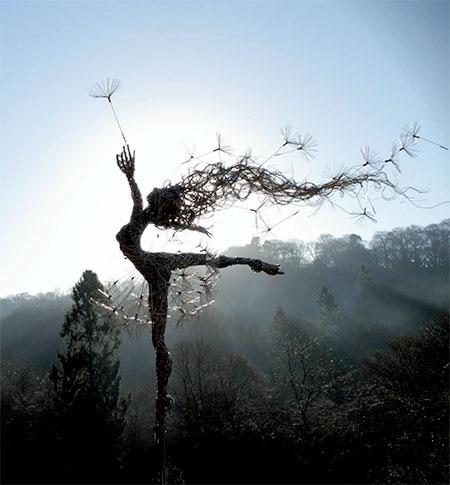 Fantasy Wire Sculptures4