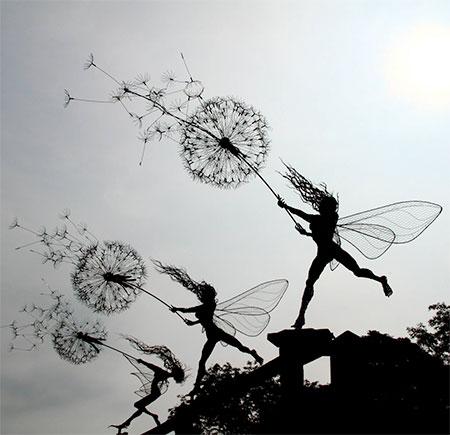 Fantasy Wire Sculptures5