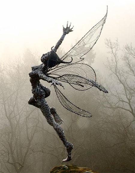 Fantasy Wire Sculptures6
