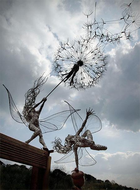Fantasy Wire Sculptures7