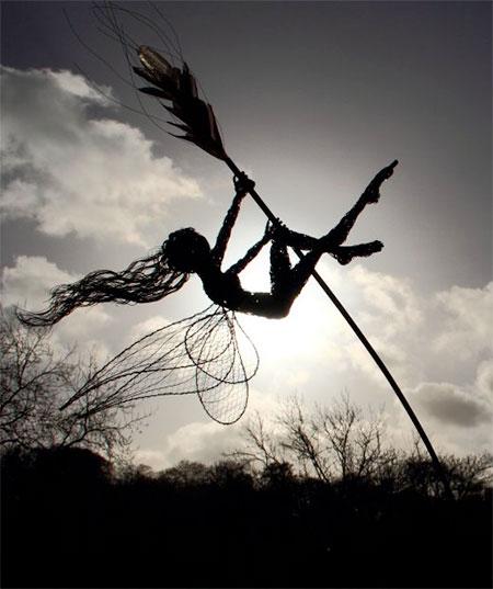 Fantasy Wire Sculptures8
