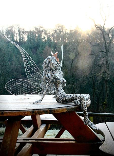Fantasy Wire Sculptures9