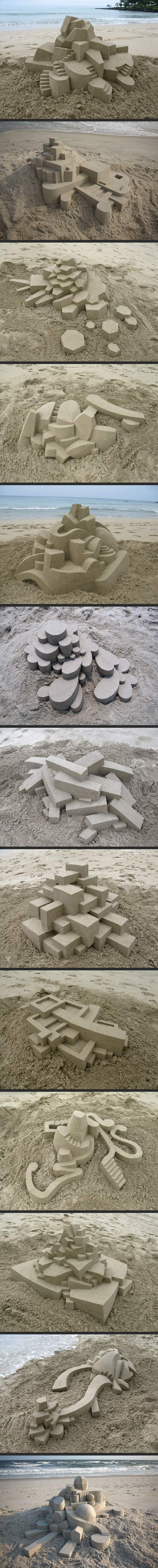 Geometrically Perfect Sand Castles…
