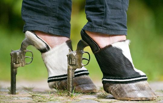 Hoof Heels…