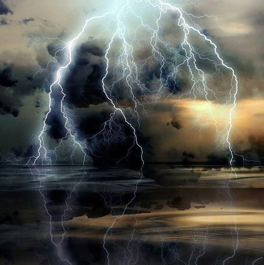 Massively Beautiful Thunderstorm…