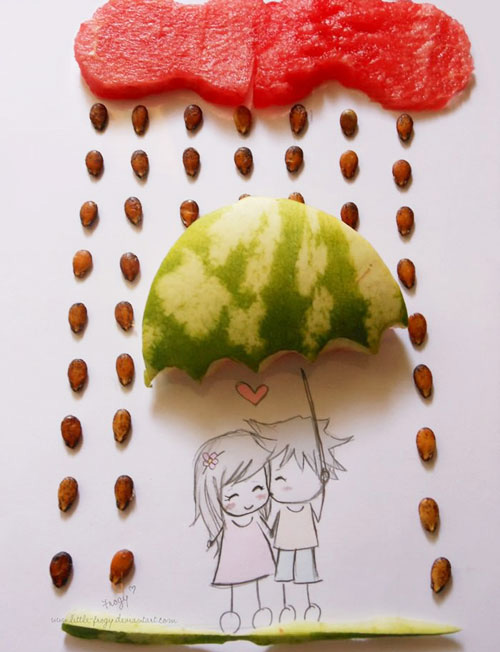 Sweet watermelon love