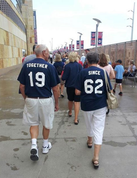The cutest old couple…