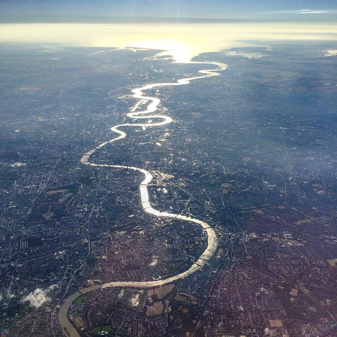 awesome pic of London this morning