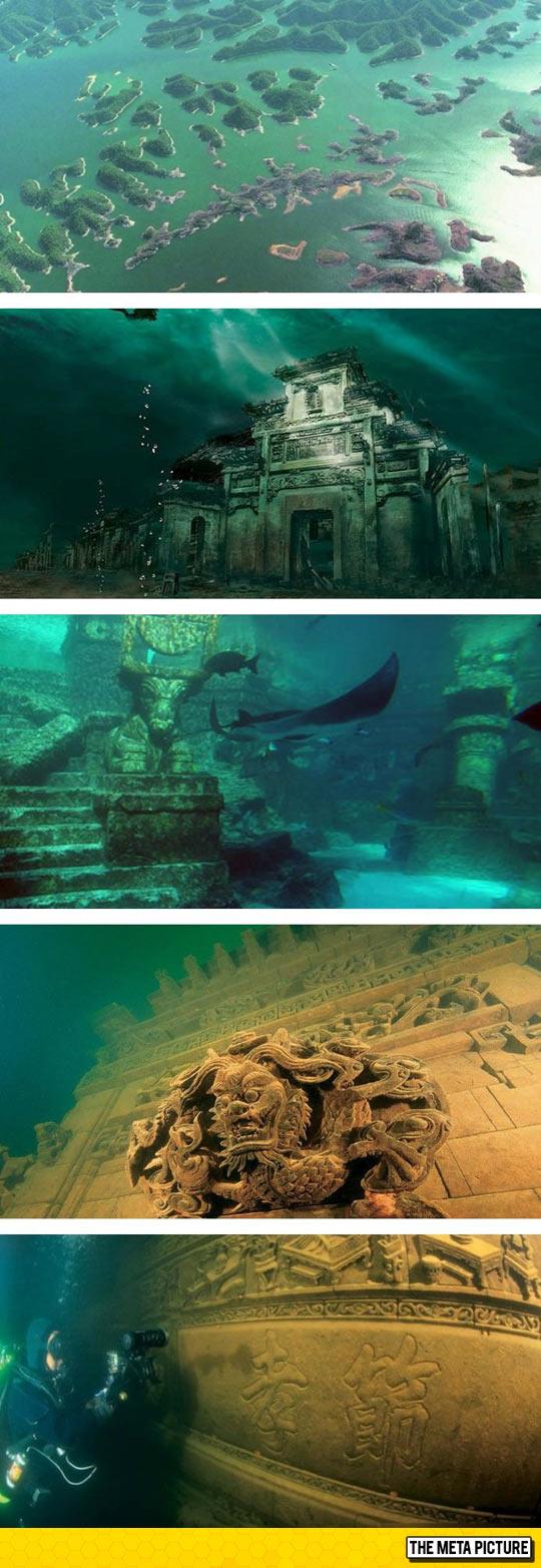 cool-China-Shi-Cheng-Underwater-City