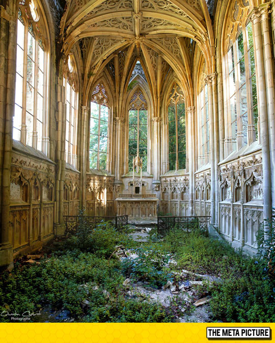 An Abandoned Church In France